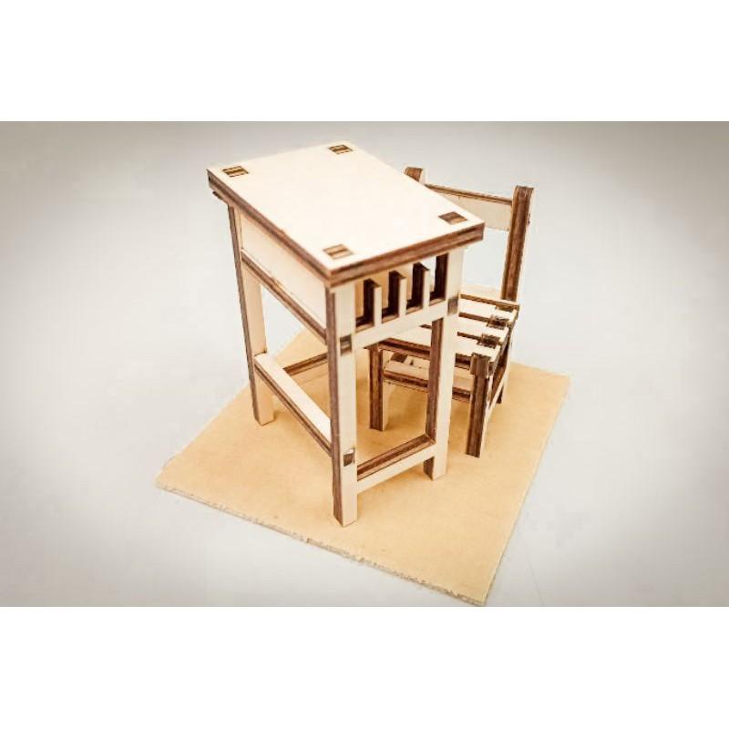 全新-國小課桌椅雷切版