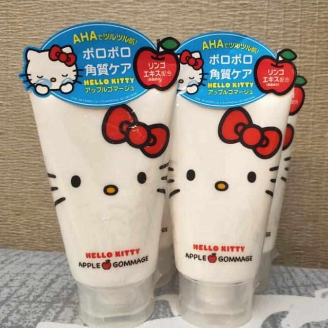 Happy購  日本直送 現貨 限定限量款 AHA HELLO KITTY 凱蒂貓去角質凝膠
