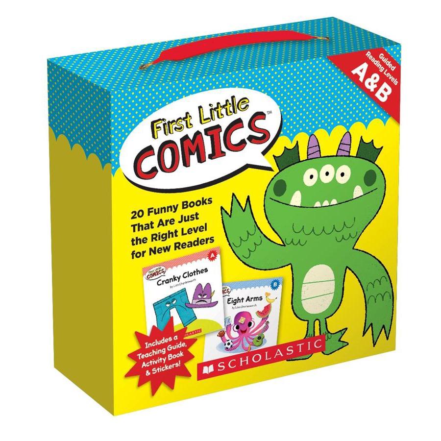 First Little Comics Parent Pack Levels/Liza eslite誠品