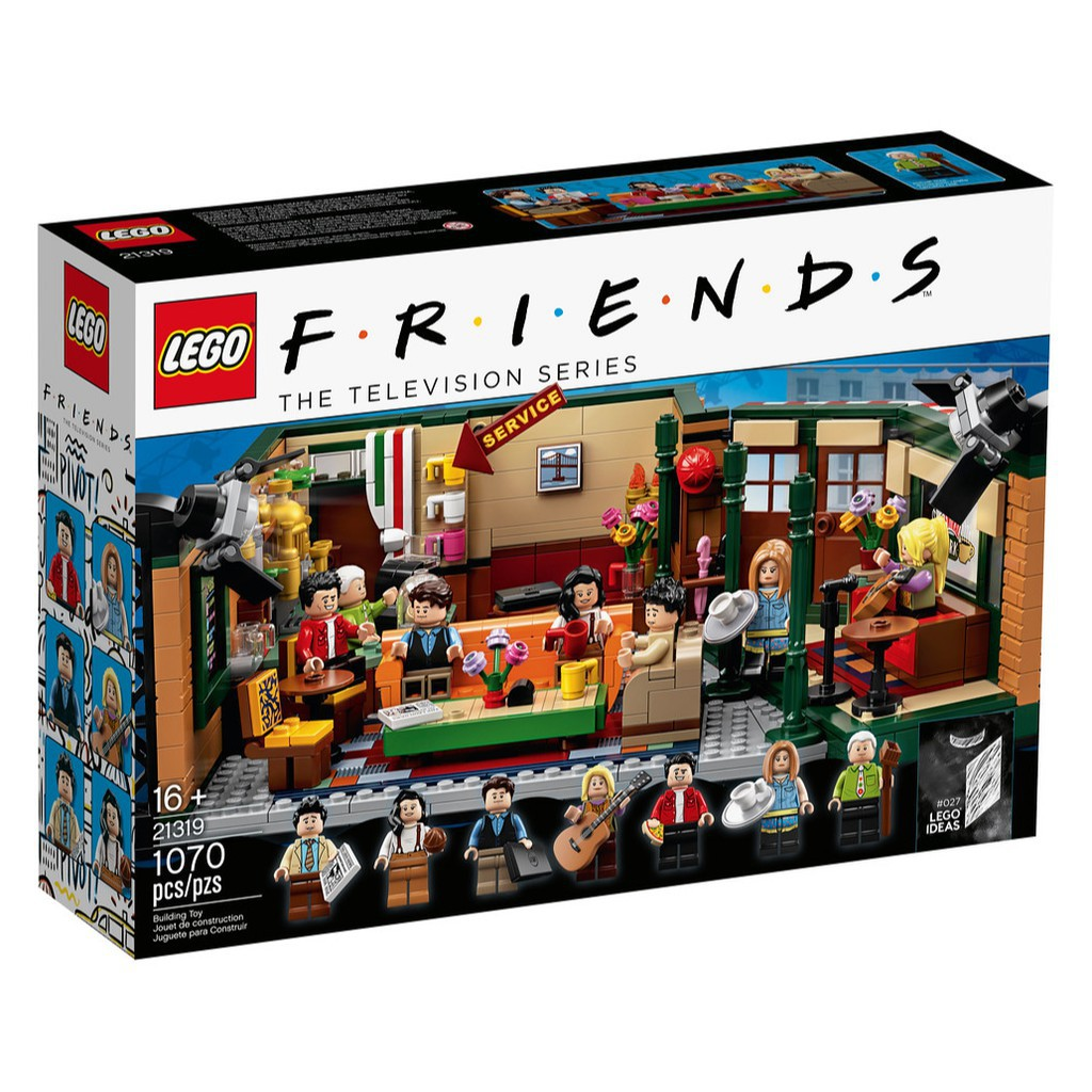 特價免運 LEGO 21319 Friends Central Perk