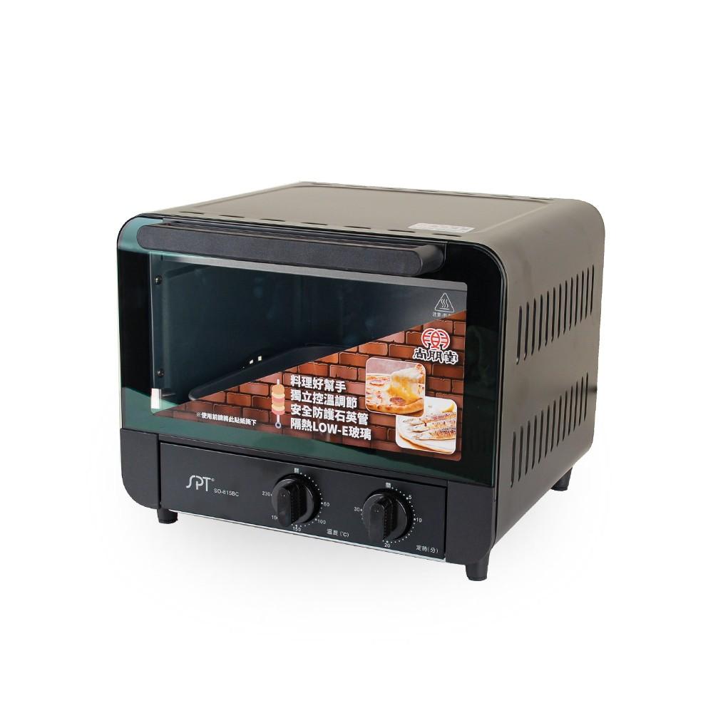 尚朋堂SPT-15L雙旋鈕控溫烤箱 SO-815BC(免運)【聖家家電舘】