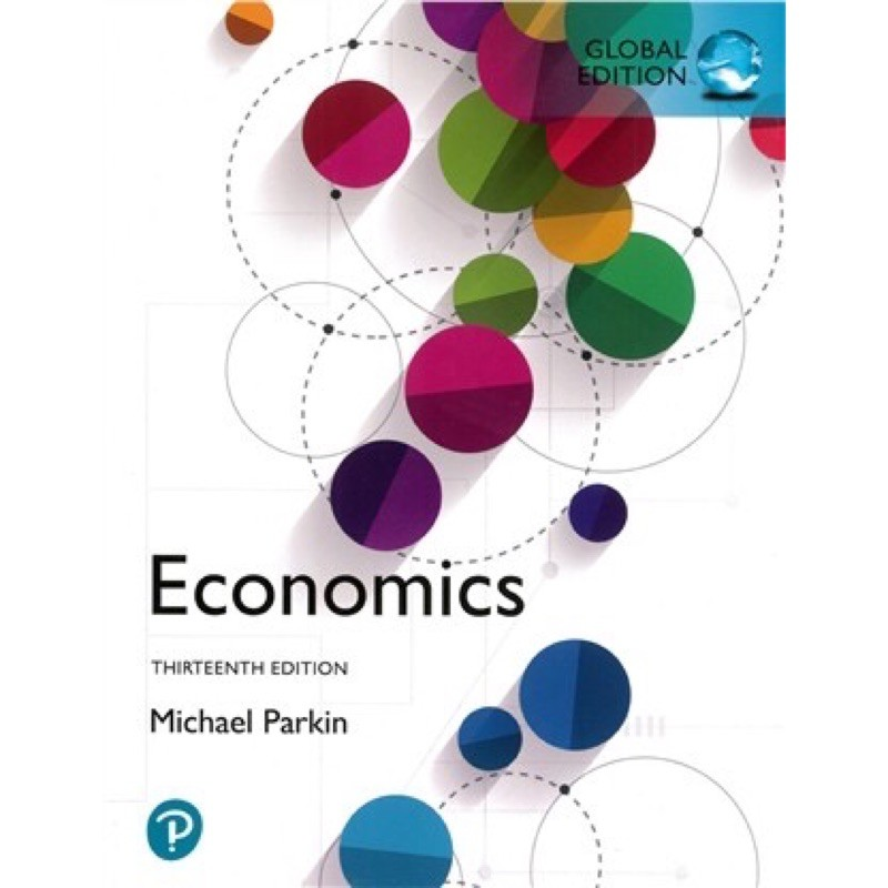 Economics 13th edition michael parkin 經濟學原文課本
