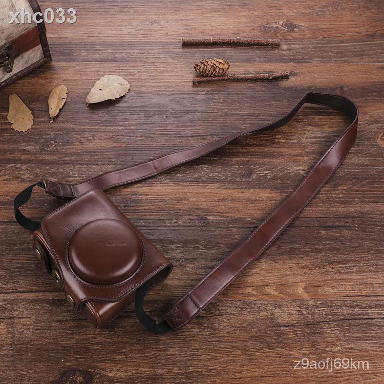 ☞優選熱賣精品☜復古皮套松下LX10相機包GF10保護套GF9攝影包GF8單肩GF7微單斜跨/速發現貨