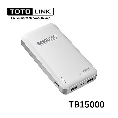 TOTOLINK 超薄快充15000行動電源 TB15000