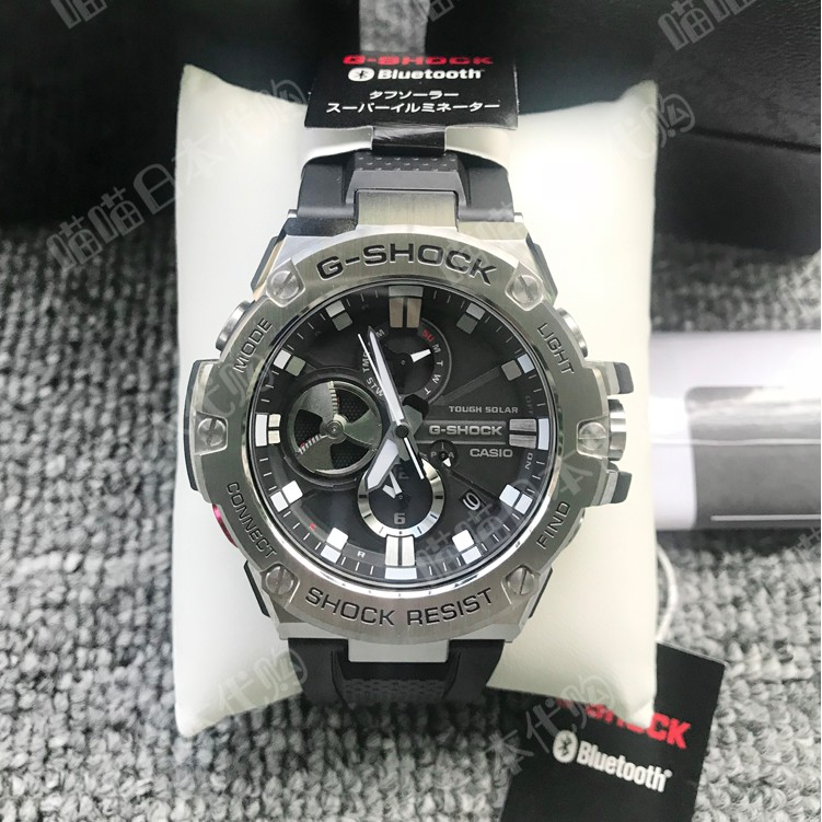 卡西歐光動能手錶男錶GST-B100-1 B100D B100XA