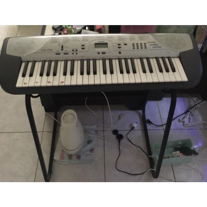 二手日本CASIO(卡西歐)電子琴 CTK-230