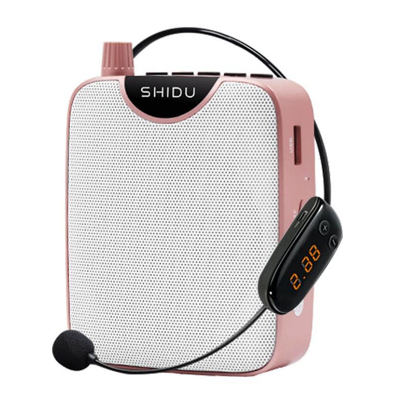 十度(ShiDu) S510擴音器 FM無線麥克風 教師學專用 導游腰掛大功率