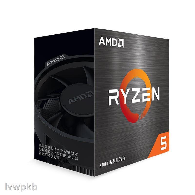 ※處理器☎▩AMD五代銳龍R5 5600X R9 3900X全新盒裝臺式機主機電腦CPU處理器