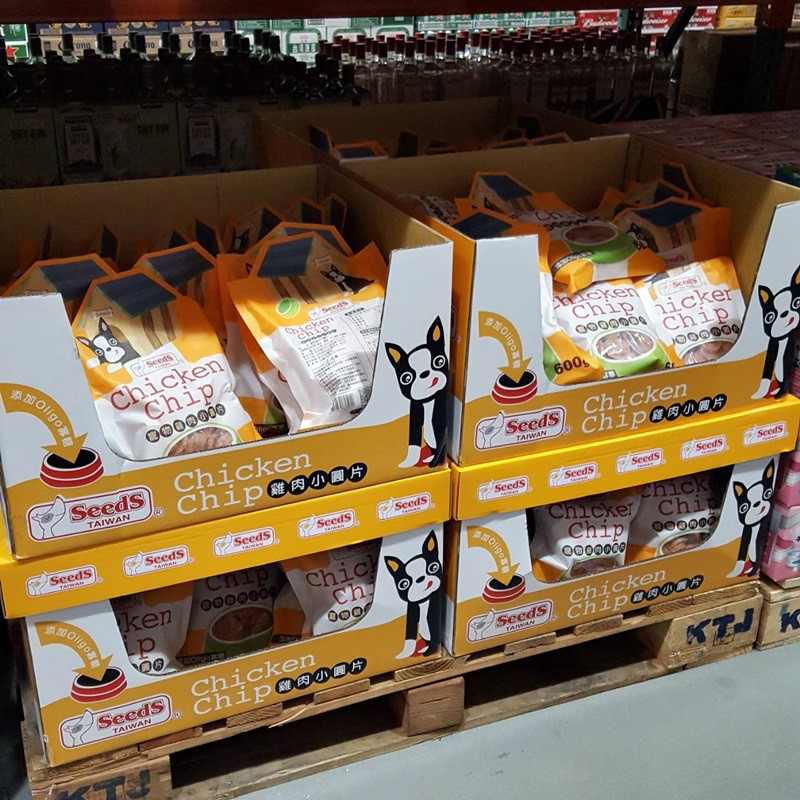 Seeds 台灣惜時 寵物雞肉小圓片 狗飼料  寵物飼料 600g 好市多 Costco 代買 代購
