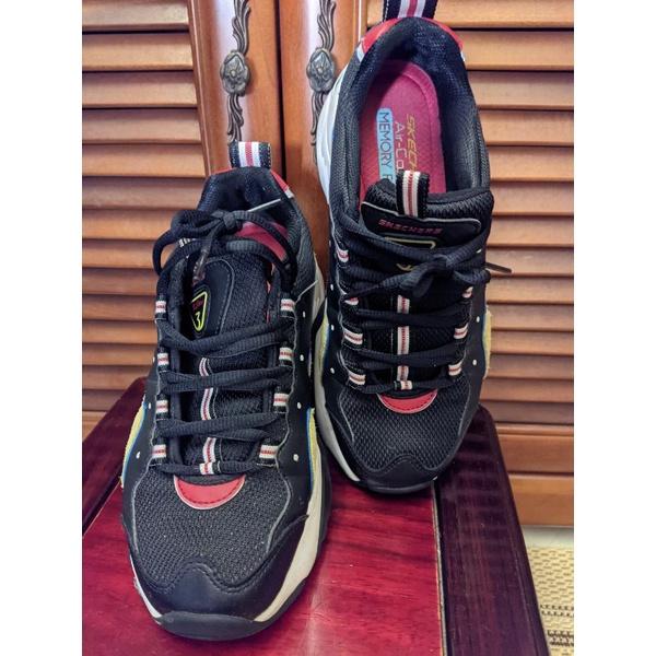 12955BKYL轉售老爹鞋skechers25.5公分dlites3.0