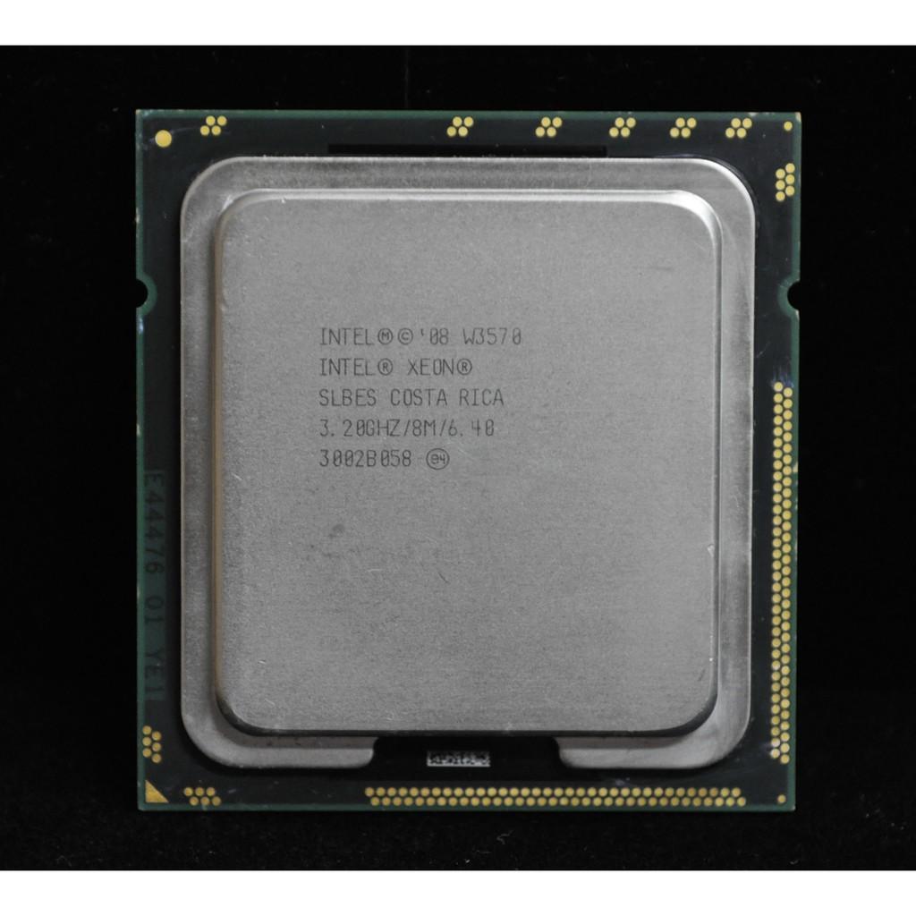 XEON W3570等同i7-960 附原廠銅底散熱風(1366 3.2G)非 i7-940 i7-950 i7-970