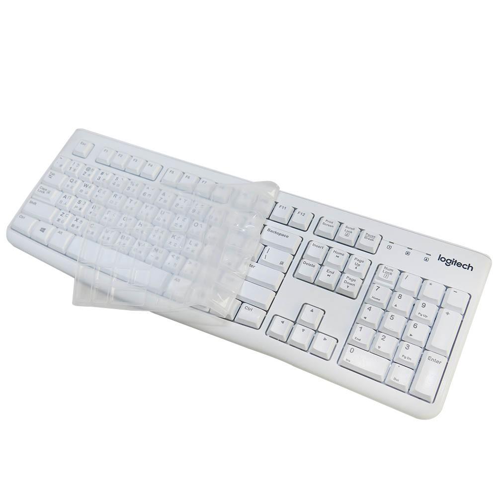 【Ezstick】鍵盤膜 羅技 Logitech K120 MK120 專用 高級矽膠 鍵盤保護膜