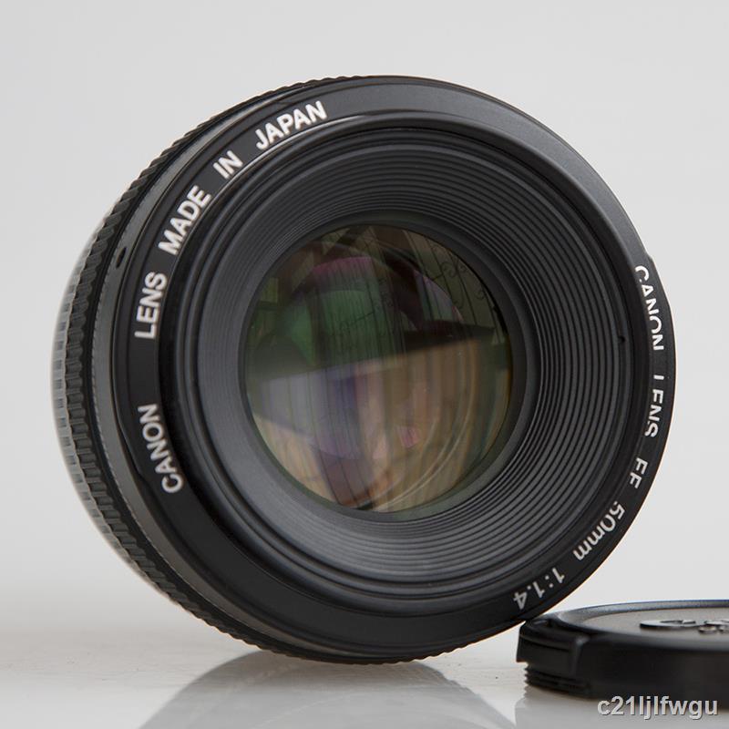 Canon佳能EF 50mm f1.4 USM大光圈人像自動定焦鏡頭二手