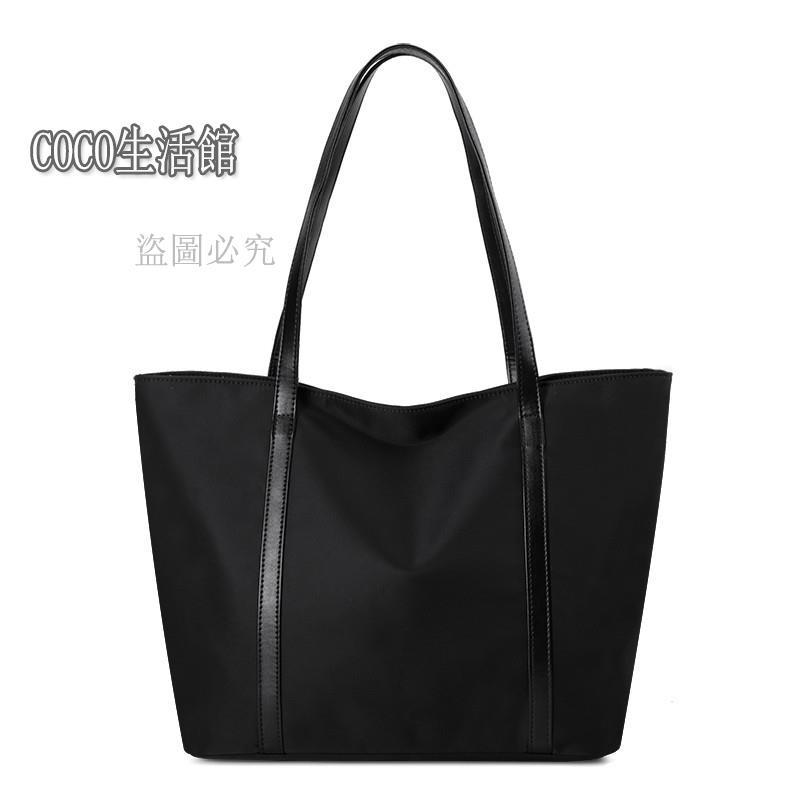 【免運】手提帆布包女 新品托特女簡約帆布單肩手提包牛津布購物袋/COCO生活館