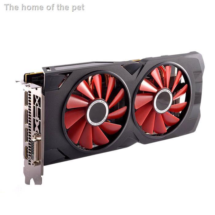 【現貨】☬☒☜拆機RX470 4G RX570 RX580 8G游戲顯卡高效吃雞有藍寶石訊景RX480