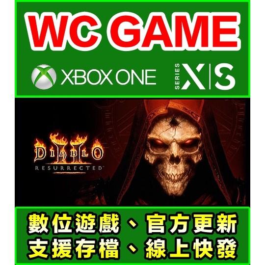 【WC電玩】XBOX ONE Series 中英文 暗黑破壞神 2 3 獄火重生 死靈法師的崛起 下載無光碟非序號