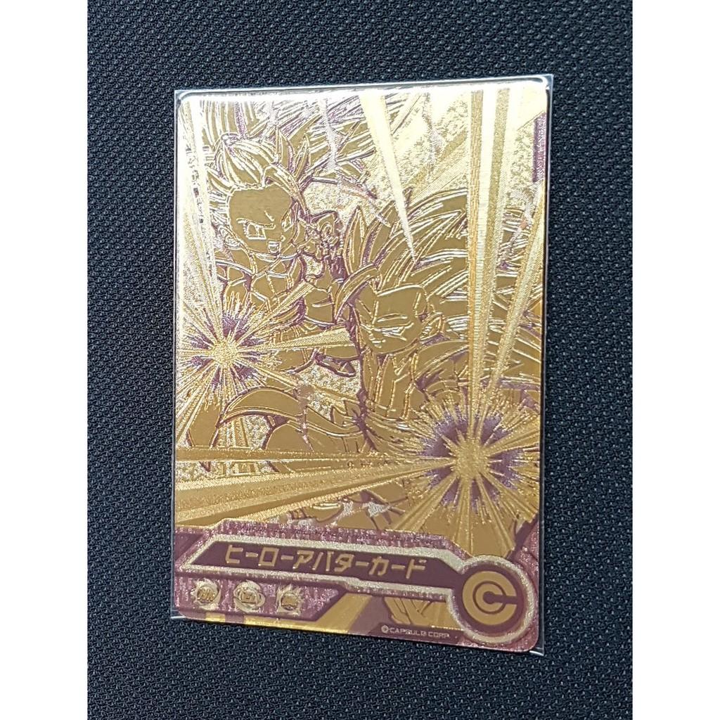 七龍珠 HEROES 英雄卡 造型金卡