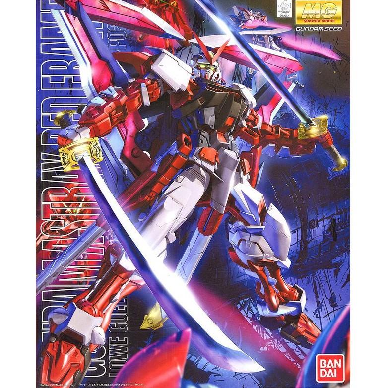 【GAME PARK】萬代 BANDAI MG 1/100  GUNDAM ASTRAY RED FRAME 巨劍紅色異