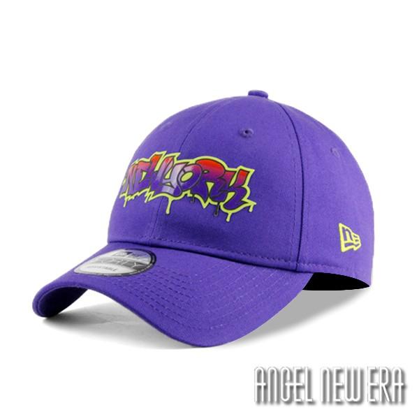 【NEW ERA】街頭塗鴉款 紐約 魔力紫 老帽 軟版 9FORTY 嘻哈 hiphop 【ANGEL NEW ERA】