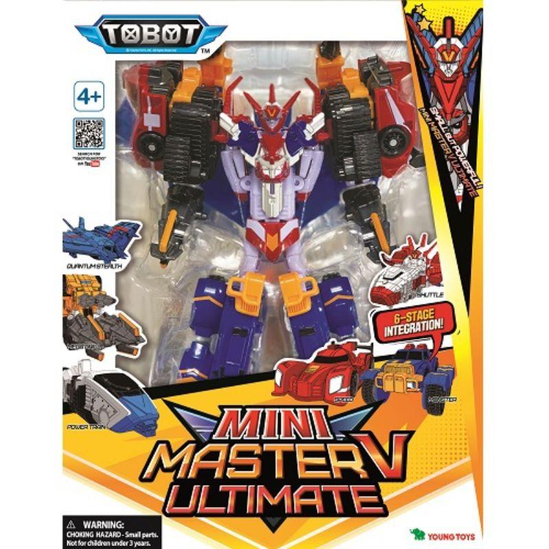 【TOBOT GD】宇宙奇兵 MINI 中型 超級 至尊戰神 MASTER V 六合一 機器戰士 麗嬰 變形機器人