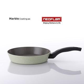 韓國[NEOFLAM] 26cm彩色岩礦系列不沾平底鍋 EC-RM-F26I(粉綠色)電磁爐適用 台中市