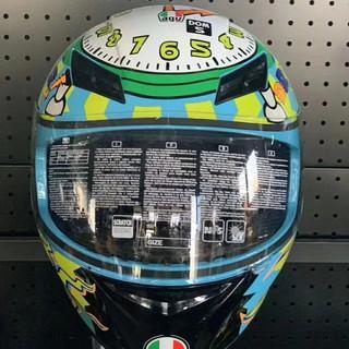 爆款熱賣 AGV K3頭盔 摩托車機車頭盔 65周年 時鐘 王者之劍 全盔四季通用