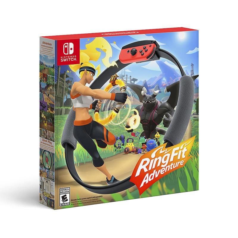 Nintendo Switch 原版片 健身環大冒險 Ring Fit 同捆組 健身冒險 中文版全新品 【台中星光電玩】