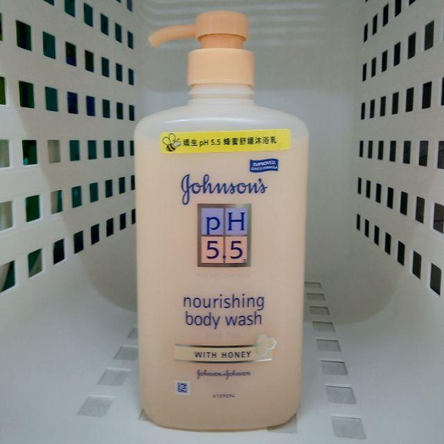 Johnson's嬌生 ph5.5蜂蜜舒緩沐浴乳-750ml-
