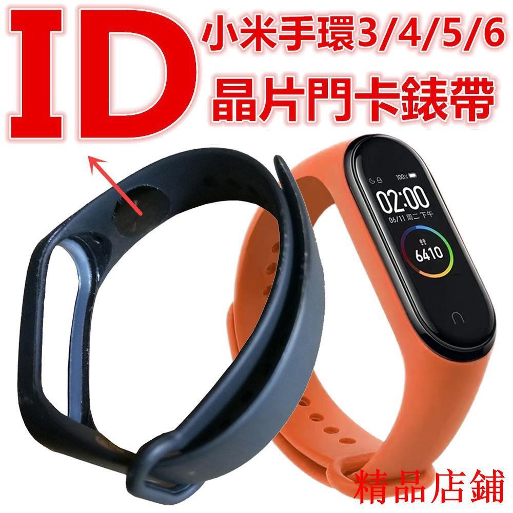 【精品店鋪】可開門錶帶 5色可選 適用小米手環6/5/4/3 IC或ID晶片T5577門卡腕帶 NF①①