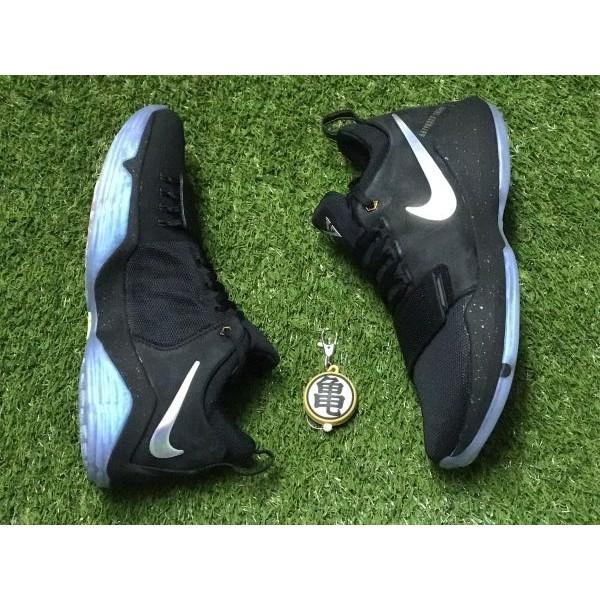 new style 957ad 5a3ec 龜字標記Nike PG-1 TS Prototype EP 911083-099 黑紫彩虹 魚鱗 魔鬼氈 雷射 初代色