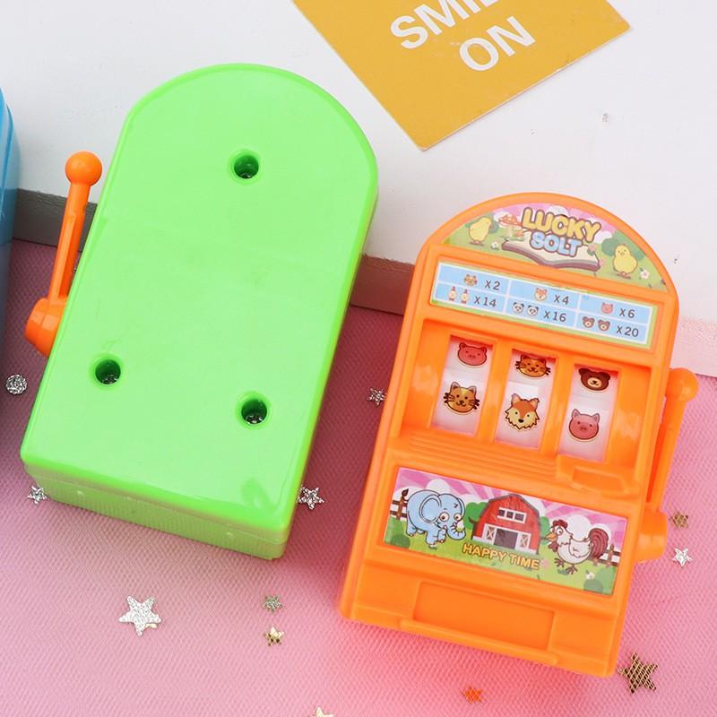 【振興玩具批發】兒童益智搖獎機迷你中獎游戲機 益智桌游 親子互動小學生獎品玩具