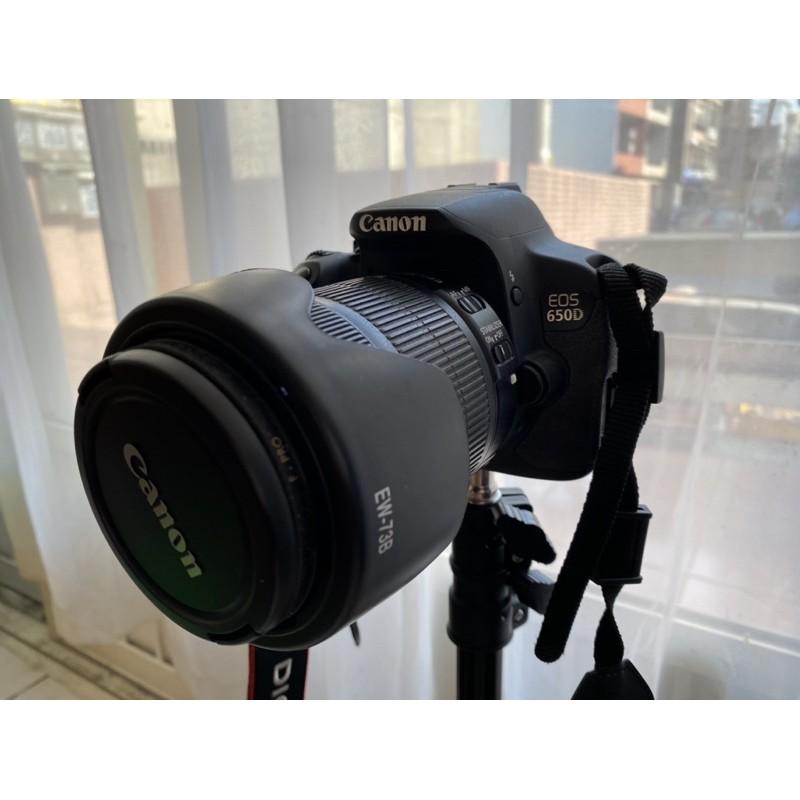 二手 中古 canon單眼相機 新手單眼650D 配18-135旅遊鏡
