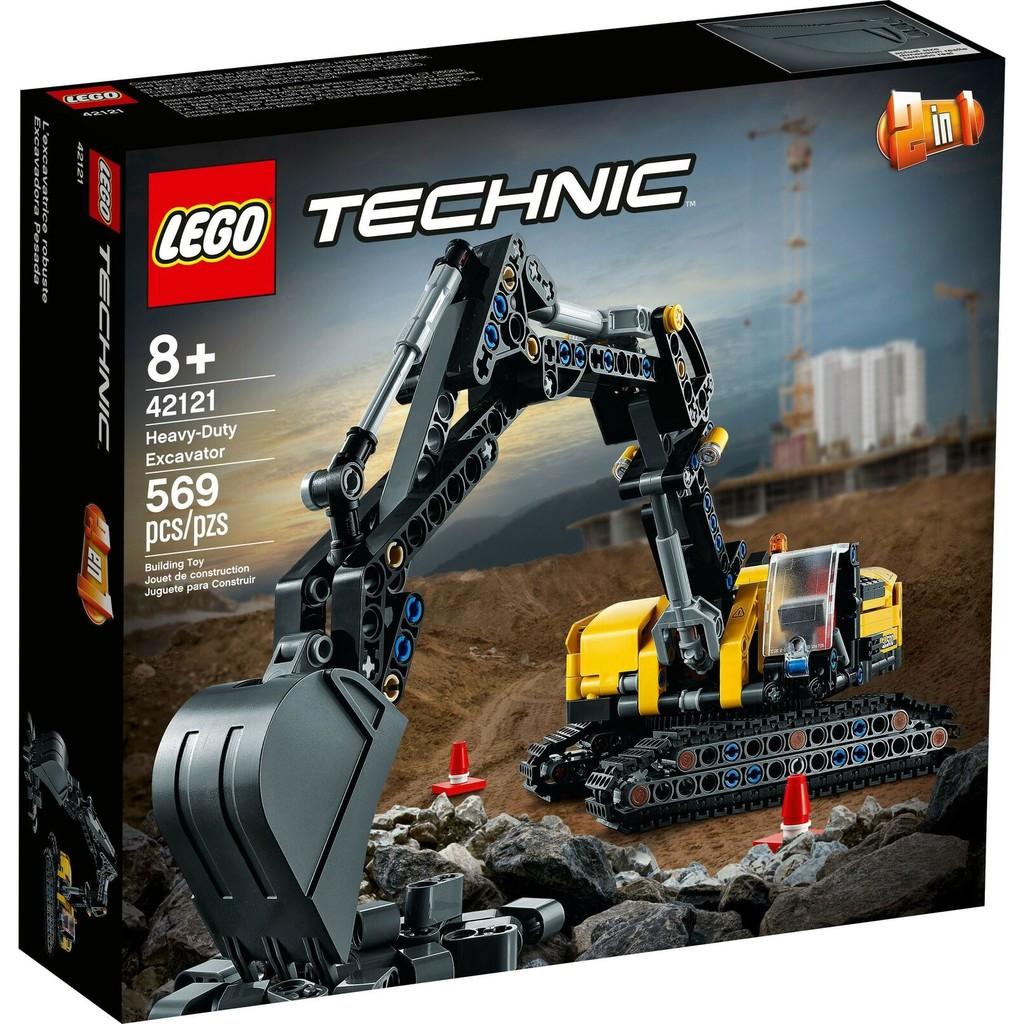 LEGO 樂高 42121 重型挖土機