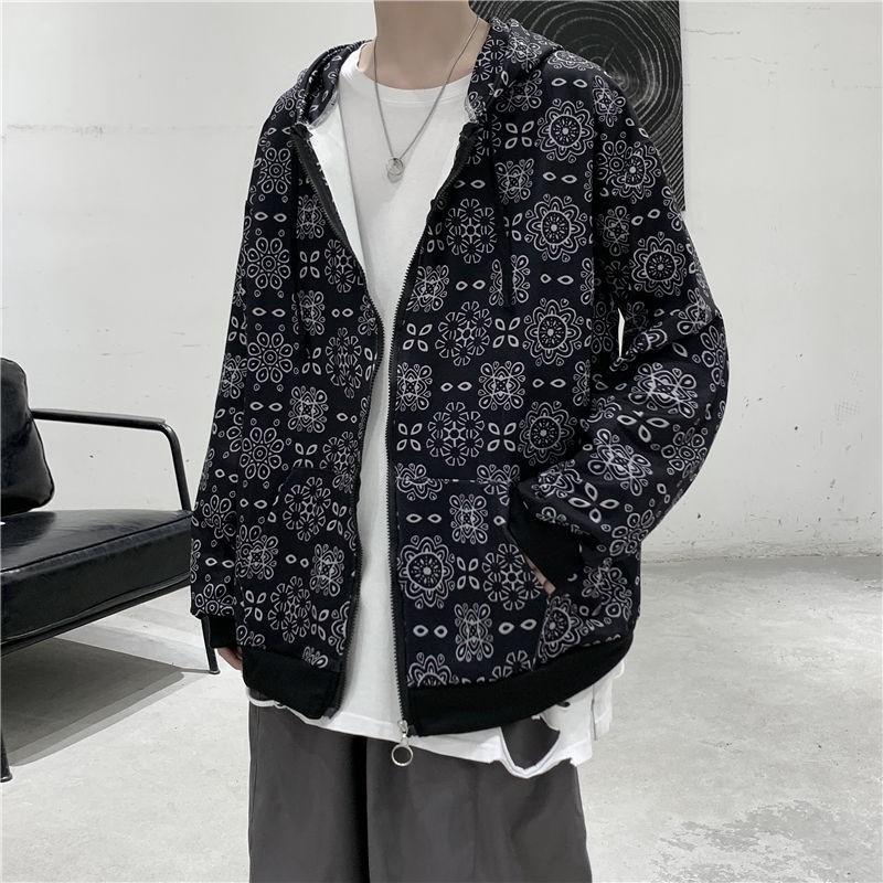 新款陳冠希CLOT同款絲綢夾克外套男女情侶款休閒運動寬鬆開衫上衣