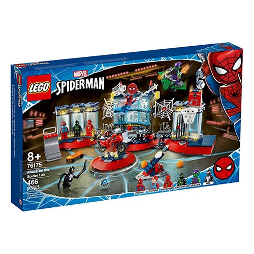 LEGO 樂高LT76175 Attack on the Spider Lair_Super Heroes超級英雄