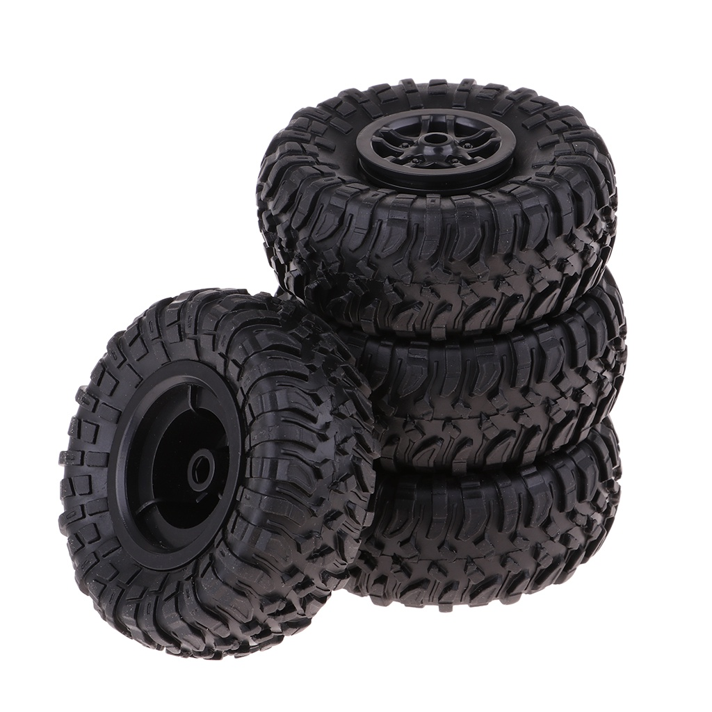 [NANA] 4PCS 1/12刻度D90 MN90 MN91速度賽車橡膠輪胎輪胎和輪