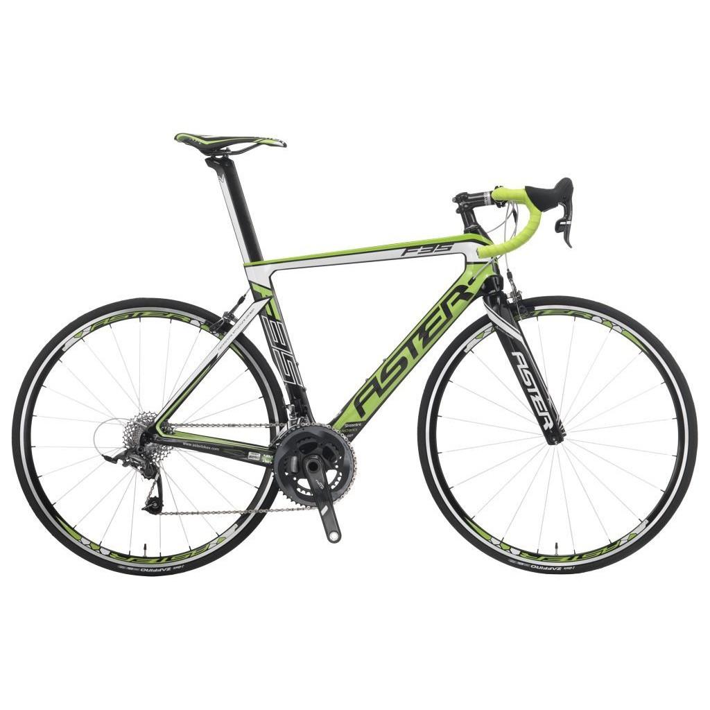ASTER 亞仕大 F35 (白綠)全碳纖維成車 特價優惠中(限自取)-【台中-大明自行車】