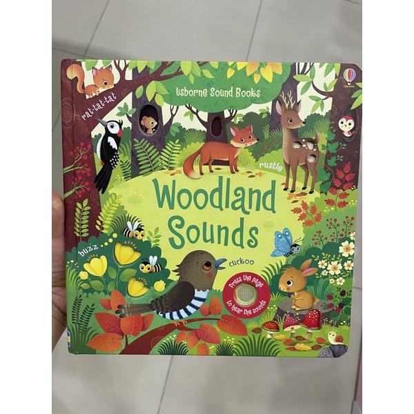 Usborne 有聲書Woodland sounds