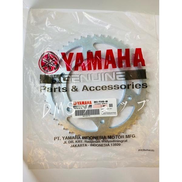 YAMAHA R15 後齒盤 後齒 48T BK6-F5448-00 泰國YAMAHA 原廠零件