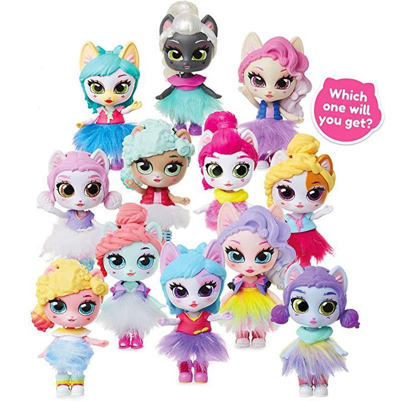 娜娜nanana芭比盲盒泡泡瑪特正品lol驚喜娃娃衣服公主玩具全套