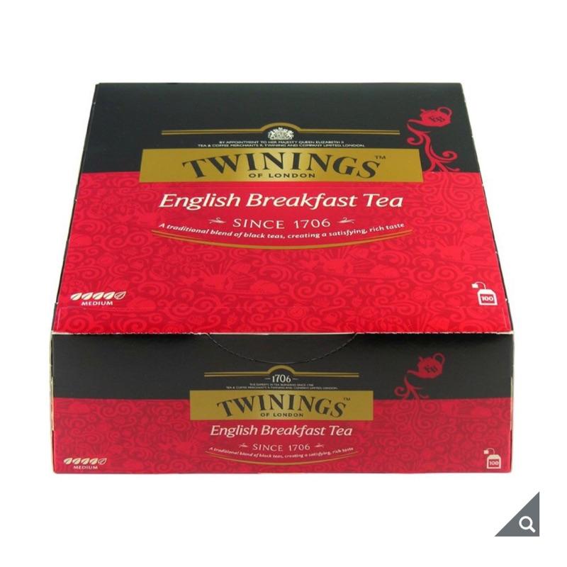 (宅配免運)茶包(100入) Twinings 英倫早餐茶 唐寧茶 茶葉 茶包 阿薩姆紅茶 英式奶茶 好市多代購
