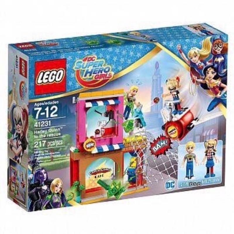 Lego 41231 超級英雄女孩 小丑女救援