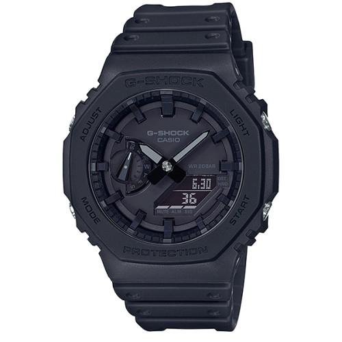 CASIO G-SHOCK 農家八角衝力腕錶/GA-2100-1A1