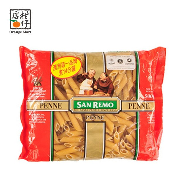 SAN REMO尖管麵(500g/包)