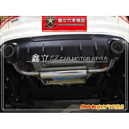 ※ 鑫立汽車精品 ※ FOCUS 18-20 MK4 4D 5D R 專用 雙出 改裝 渾厚 迴壓 排氣管 排氣 尾桶