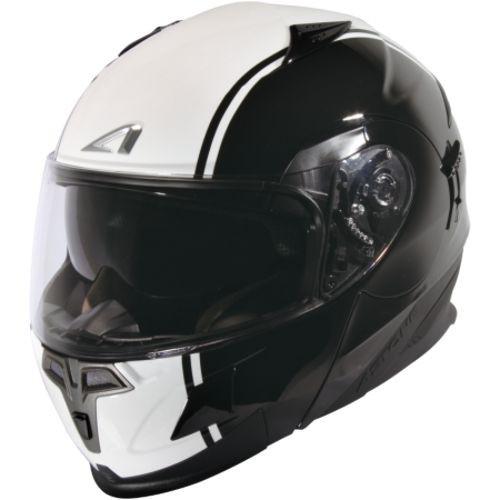 ASTONE RT1000 黑/AB4白 內墨鏡 可掀式 全可拆洗 吸濕排汗 全罩 安全帽《比帽王》