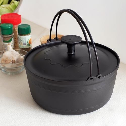大古鐵器 TAKU 鑄鐵內鍋(23cm/附鑄鐵鍋蓋)