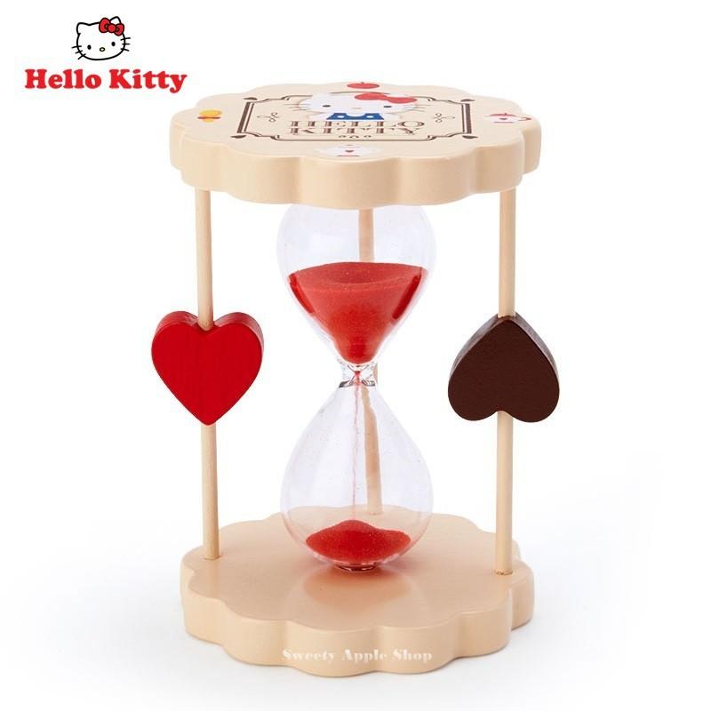 三麗鷗 【 SAS日本限定 】 凱蒂貓 HELLO KITTY 冬季午茶時間 沙漏 計時器