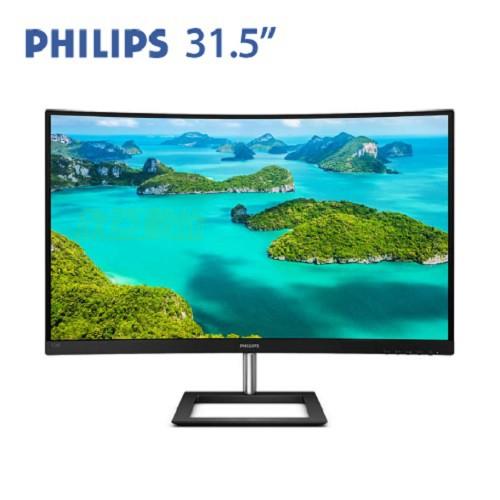 【32型曲】PHILIPS飛利浦 328E1CA 4K VA曲面專業螢幕/3840x2160/4ms/HDMIx2/DP