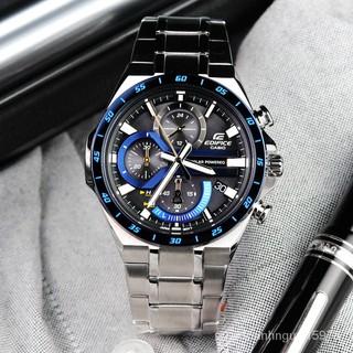 卡西歐EDIFICE賽車手錶男太陽能不銹鋼金屬EQS-920DB-2A/ ECB-900 高雄市